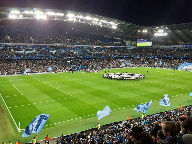Hospitality tickets wedstrijd Manchester City