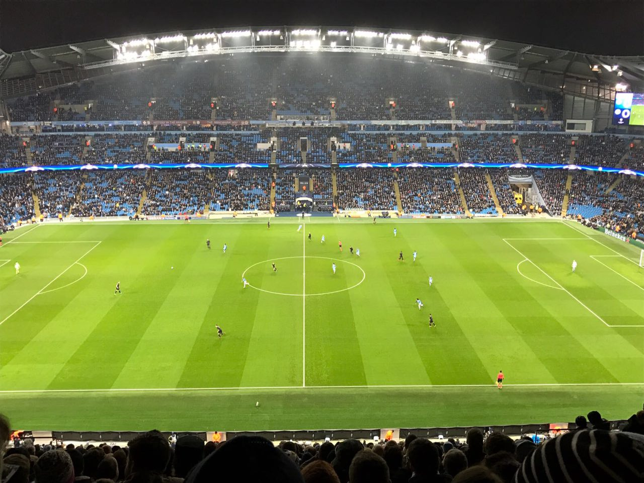 Manchester City tickets voor de Champions League