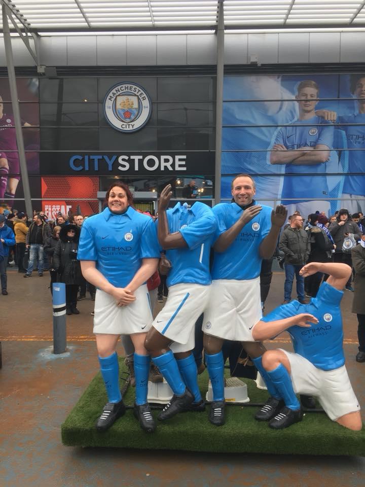 Manchester City fanshop