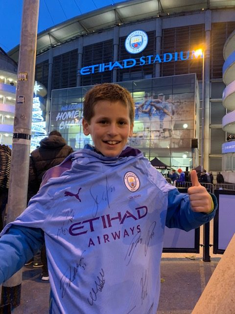 Manchester City spelers opkomst